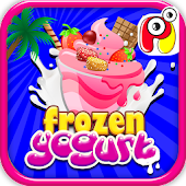 Frozen Yogurt Maker -Kids Game