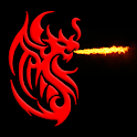 Tribal Dragon Live Wallpaper icon