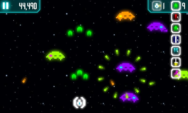Cosmos vs Invaders (Lite) - screenshot