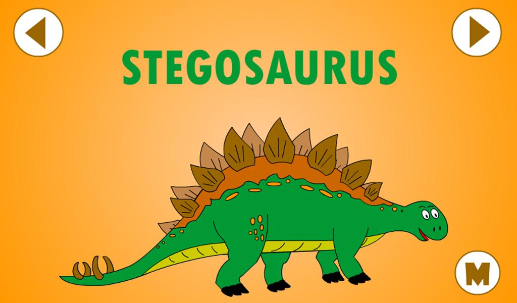 kids dinosaur puzzles screenshot