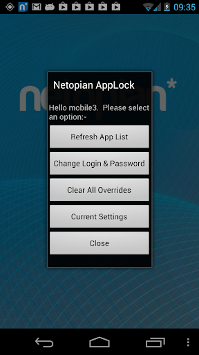 Netopian AppLocker