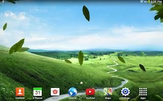 Screenshot of Nature Live Wallpaper