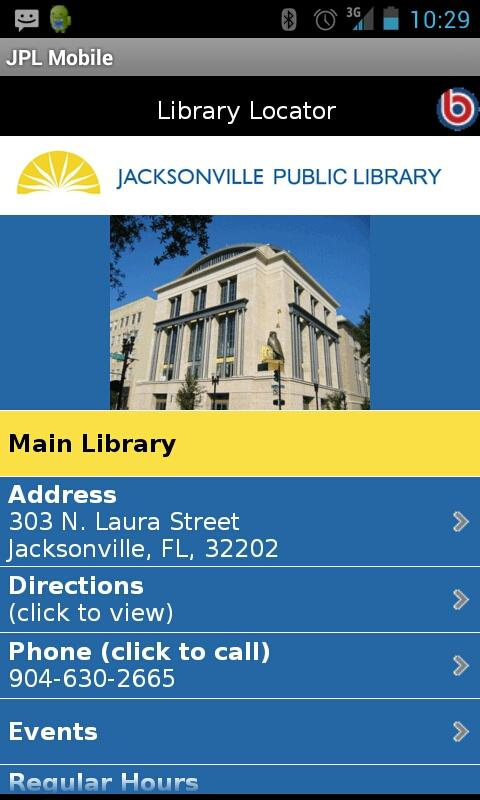 JaxLibrary- screenshot