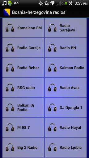 Bosnia-Herzegovina Radios
