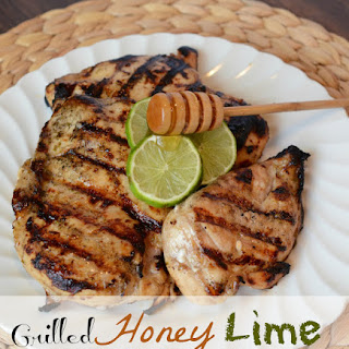 Grilled Honey Lime Chicken Breast.