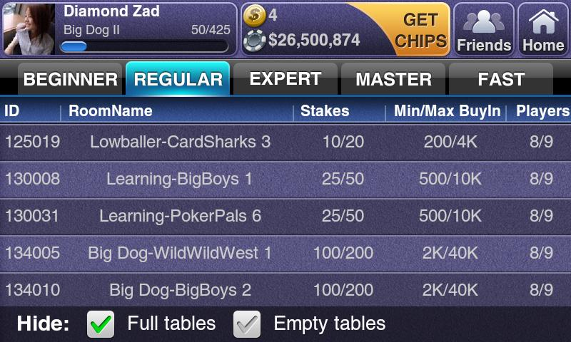 Texas HoldEm Poker Deluxe Pro- screenshot