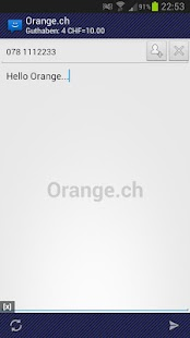 WebSMS: Orange.ch Connector - screenshot thumbnail