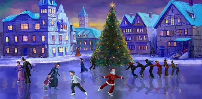 Natale Rink Live Wallpaper