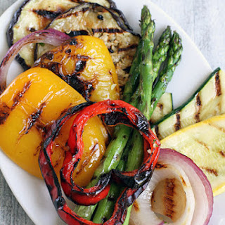 Grilled Vegetable Quinoa Salad.