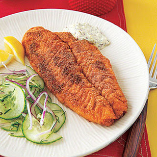 Cornmeal-Crusted Fish Fillets Recipe