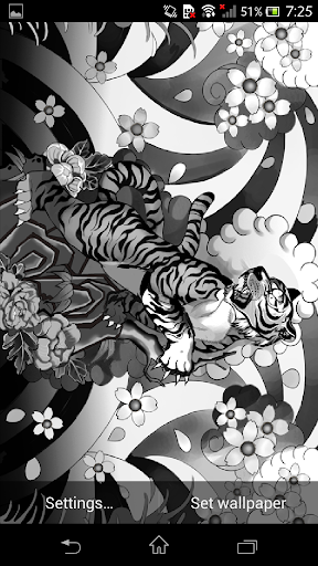 Graffiti Wallpaper -tattoo 影-