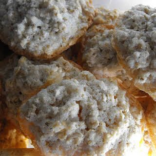 Coconut and Oat Biscuits.