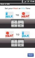 Screenshot of Milk or Meat - The Kosher App