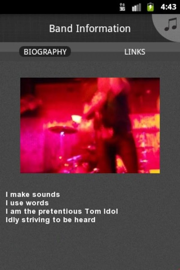 TJ Arriaga (Tom Idol) - screenshot