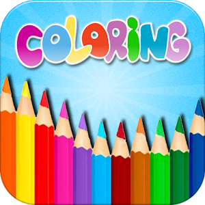 Kids Coloring Book Box
