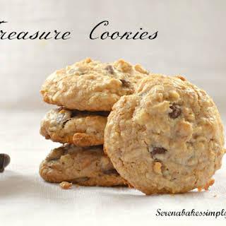 Chocolate Chip Treasure Cookies.