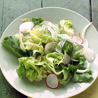 Fennel, Escarole, and Radish Salad