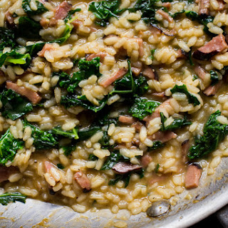 Ham and Kale Risotto