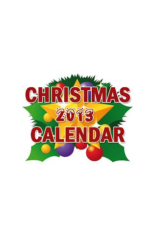 Christmas Calendar 2013 Advent