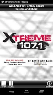 Xtreme 107.1 - screenshot thumbnail
