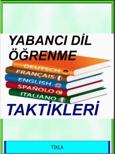 Yabancı Dil Öğreten Öneriler