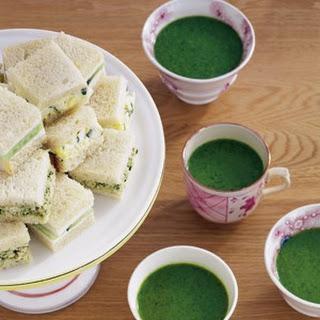 Egg Salad Tea Sandwiches.