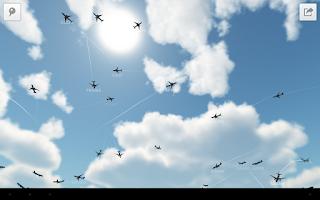 Screenshot of Plane Finder 3D