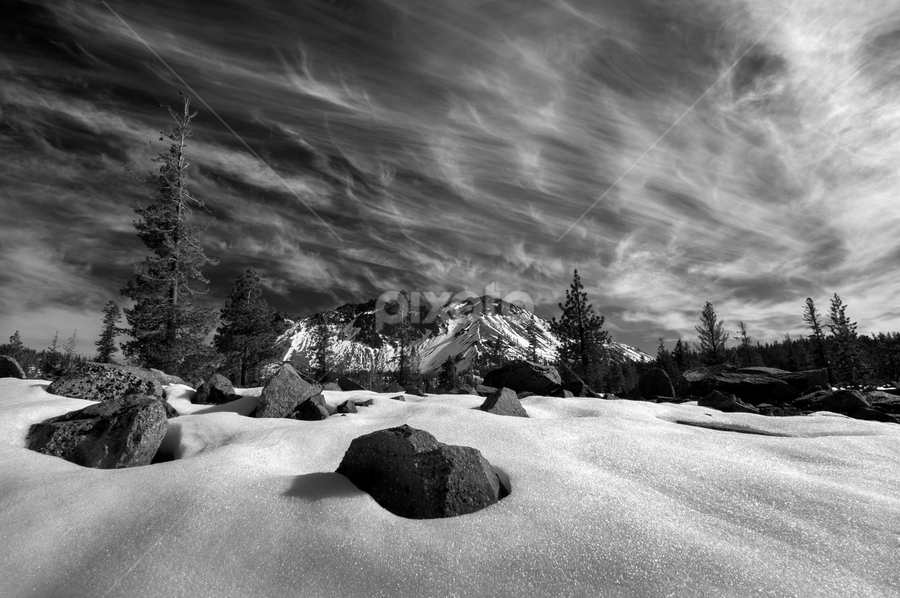 Lassen by Michael Keel - Black & White Landscapes (  )