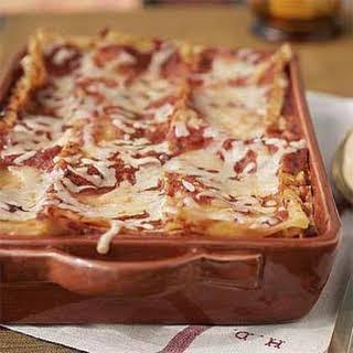 Rachel's Special Occasion Lasagna.