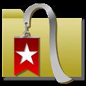 フォルダーで管理するブックマーク(BookMark) icon