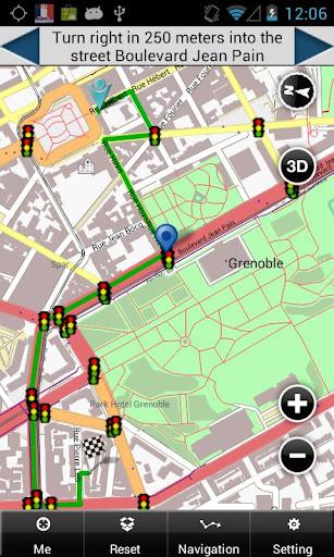 Grenoble Map