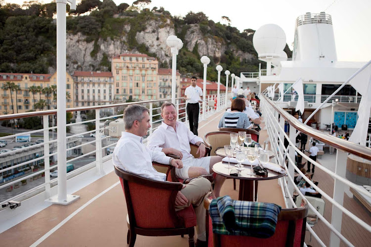 Dress in all white for the White Party aboard your Azamara sailing.