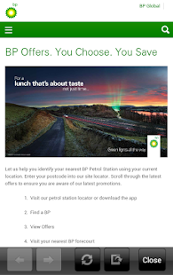 BP UK - screenshot thumbnail