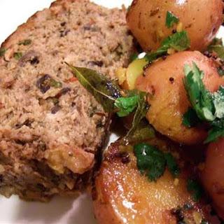 Tamarind-Glazed Meatloaf.