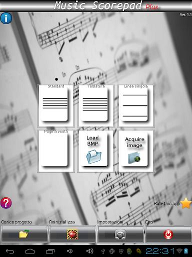 Music Score Pad-Free Notation