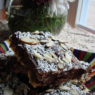 Coco-nutty Rocky Road Bars