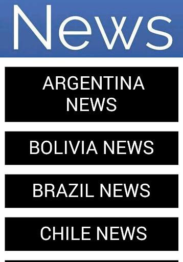 SOUTH AMERICA NEWS
