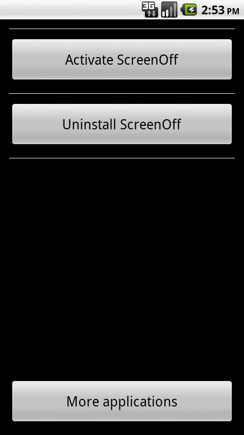 Screen Off - screenshot