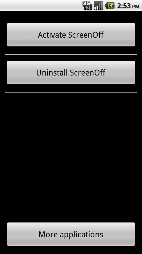 Screen Off - screenshot