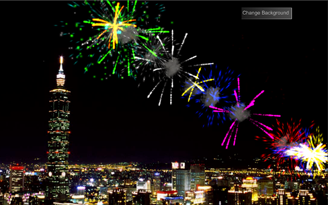 QCat -Toddler Fireworks (free) - screenshot