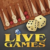 Backgammon LiveGames - online with real people