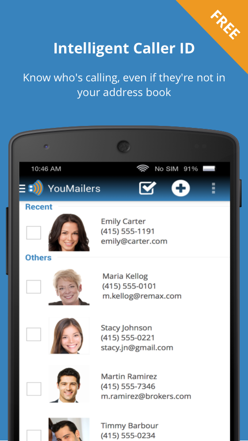 YouMail Visual Voicemail- screenshot