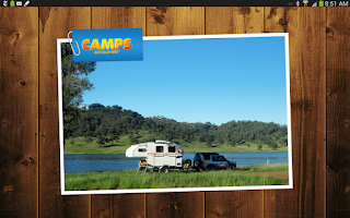 Screenshot of Camps Australia Wide