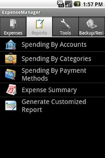 ExpenseManager - screenshot thumbnail
