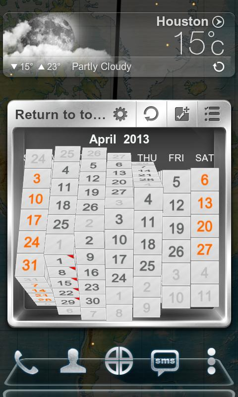 Next Calendar Widget - screenshot