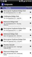 Screenshot of Bridgewebs