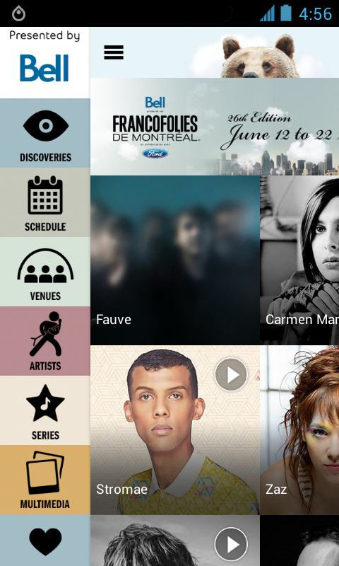FrancoFolies de Montréal 2014 - screenshot