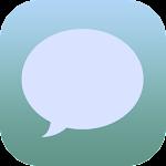 EvolveSMS Dark iOS L.Grey/Blue