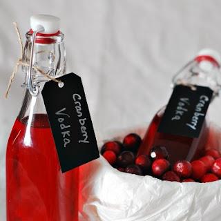 Cranberry-Infused Vodka #SundaySupper