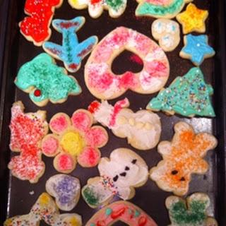 Dessert- Cookie-Cutter Cookies
